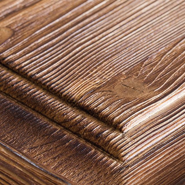 درب های کابینت با روکش طبیعی چوب و رنگ